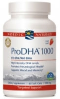 Pro DHA 1000, 120 Strawberry gelcaps by Nordic Naturals