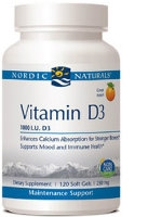 Vitamin D3 1,000, 120 softgels by Nordic Naturals
