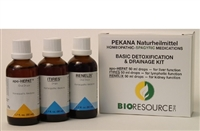 Basic Detoxification & Drainage Kit, by Pekana
