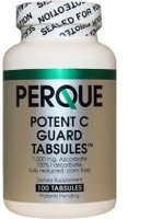 Potent C Guard 1000 mg, 100 tabs by Perque