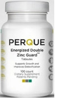 Energized Double Zinc, 100 tabs by Perque