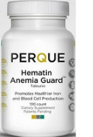 Hematin Anemia Guard, 100 tabs by Perque