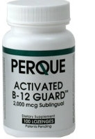 Activated B-12 Guard, 100 lozenges by Perque