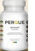 Life Guard Chewables, 90 tabs by Perque