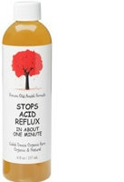 Stops Acid Reflux, 8 oz by Caleb Treeze Organic Farm