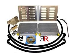 Evolution Racewerks Competition Oil Cooler Upgrade Kit - BMW 135, 1M & 335 with N54 or N55 Engine