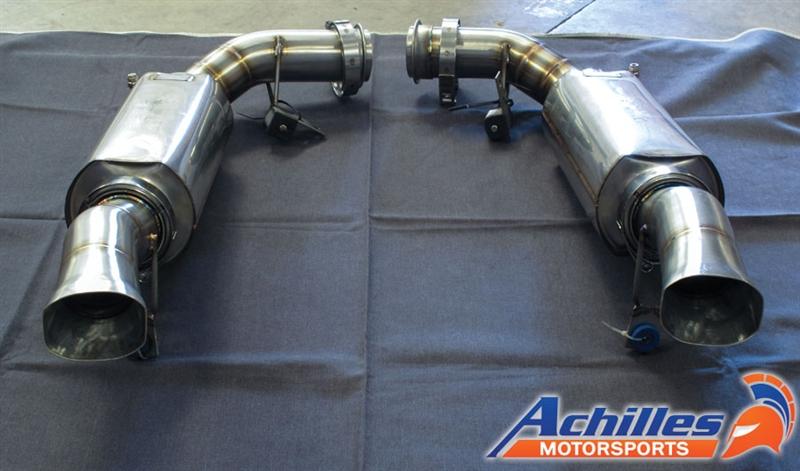 Achilles Motorsports Custom Exhaust Built To Customer