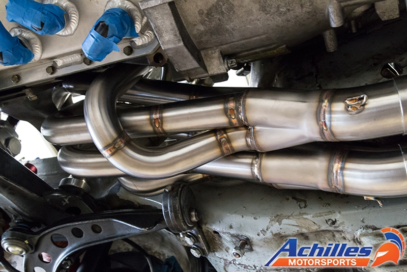 Achilles Motorsports Headers Built To Customer