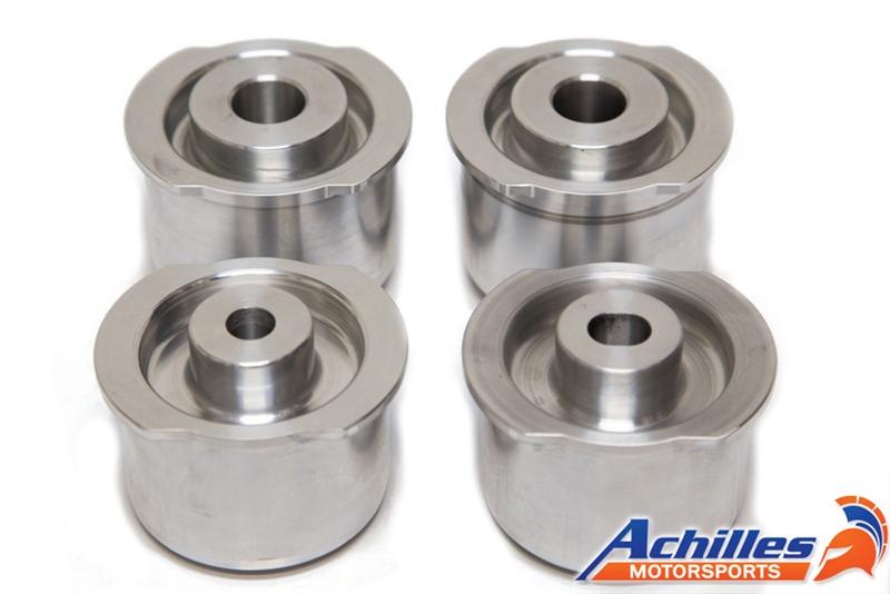 Achilles Motorsports Aluminum Rear Subframe Solid Bushing Set