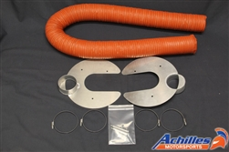 Achilles Motorsports Brake Cooling Plate Kit - BMW E46 M3 Only