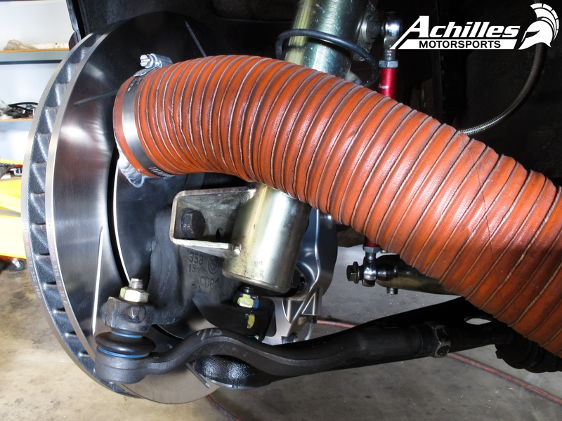 Achilles Motorsports Brake Cooling Duct Kit Bmw E46 M3 Only