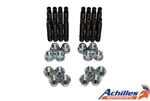 Achilles Motorsports BMW Race Stud Conversion Kit with Lug Nuts -  4 Lug M12x1.5