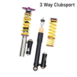 KW 3 Way Clubsport Kit - BMW F30 328i F32 428i RWD only, equipped with EDC - Delete Bundle Included, 3972020E