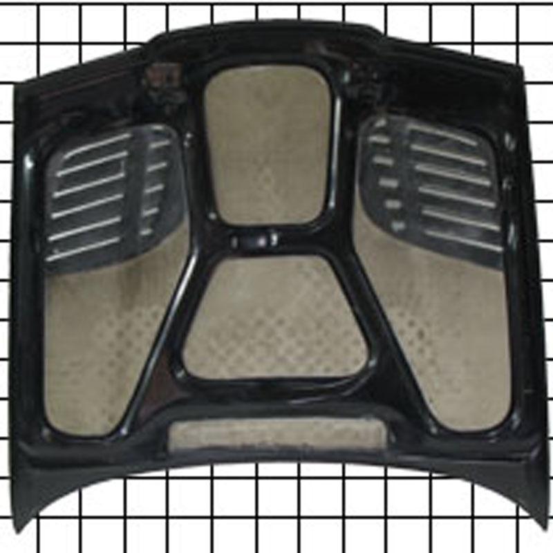 Ma Shaw Bmw E36 2dr Carbon Fiber Hood Gtr Vented Style