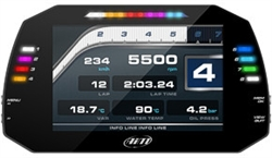AiM MXG Color Display GPS Dash Data Logger