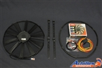 "Spal Electric Fan and Installation Kit - Low Profile 16"" Pull Type"
