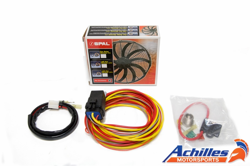Spal Electric Fan Relay Wiring Harness Kit   Spal Wiring Harness      Achilles Motorsports