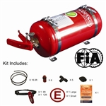 SPA Fire Suppression System Multiflow AFFF 4 Liter Steel