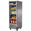 MSR-23G-1 Turbo Air Single Glass Door Refrigerator - Maximum