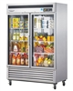 MSR-49G-2 Turbo Air Two Glass Door Refrigerator - Maximum