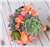 Real Touch Peach Roses, Callas and Succulents Bouquet Mix