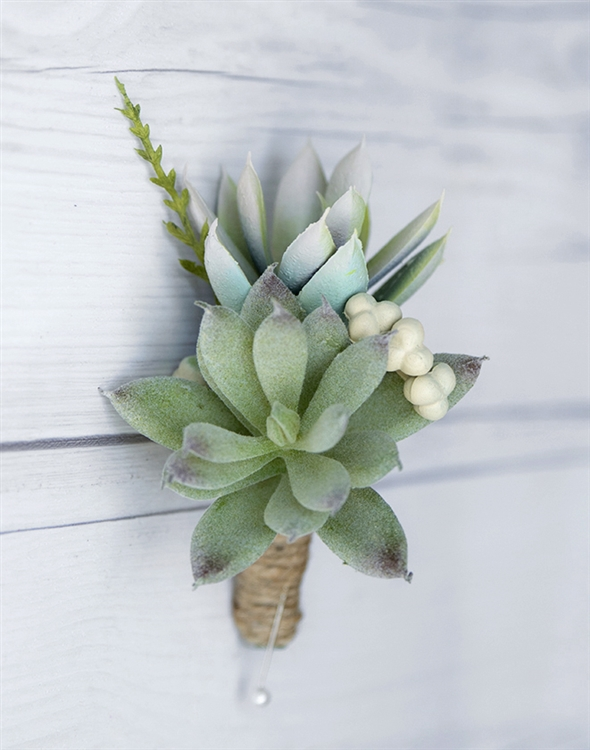 Real touch succulent rustic boho chic woodland silk wedding alternative views junglespirit