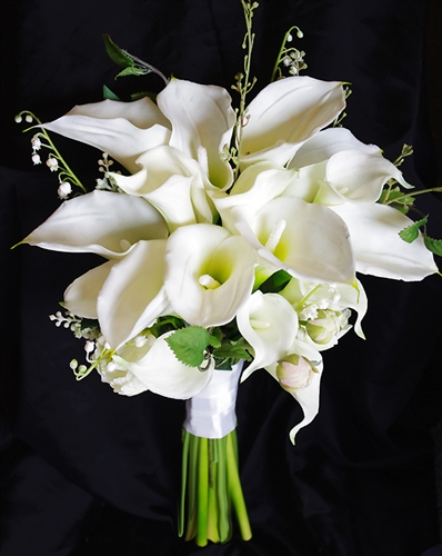 fake calla lily wedding bouquets floramatique touch calla lilies bouquet 3976