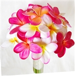 Natural Touch Orchids and Plumerias Bouquet