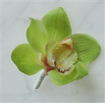 Natural Touch Orchid Boutonniere