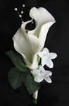 Natural Touch Calla Corsage