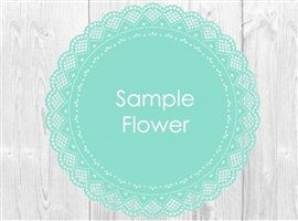Real Touch and Silk Wedding and Home Decor Flower Sample