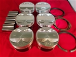 P2R DNJ High Compression J Series 89.5mm Piston Set