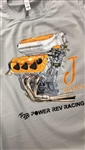 J Series Engine Design T-Shirt