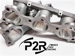 P2R J-Series CNC Ported Lower Intake Manifold Runners