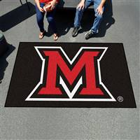 "Miami of Ohio Redhawks Tailgating Ulti-Mat 60""x96"""