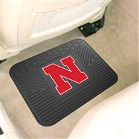 "University of Nebraska Utility Mat 14""x17"""