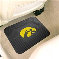 "University of Iowa Utility Mat 14""x17"""
