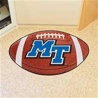 "Middle Tennessee State University Football Mat 20.5""x32.5"""