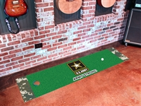"U.S. Army Putting Green Runner Mat 18"" x 72"""