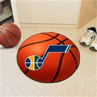 "Utah Jazz Basketball Mat, 29"" Diameter"
