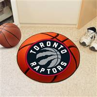 "Toronto Raptors Basketball Mat, 29"" Diameter"
