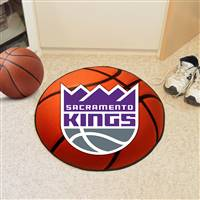 "Sacramento Kings Basketball Mat, 29"" Diameter"