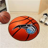 "Orlando Magic Basketball Mat 29"" Diameter"