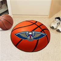 "New Orleans Hornets Basketball Mat 29"" Diameter"