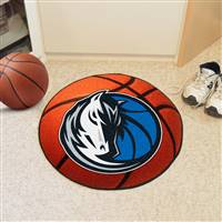 "NBA - Dallas Mavericks Basketball Mat 27"" diameter"