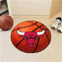 "Chicago Bulls Basketball Mat, 29"" Diameter"
