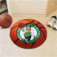 "Boston Celtics Basketball Mat, 29"" Diameter"