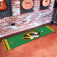 "University of Missouri Putting Green Mat 18""x72"""