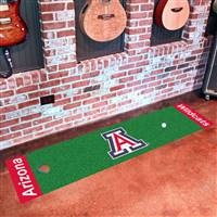 "University of Arizona Putting Green Mat 18""x72"""