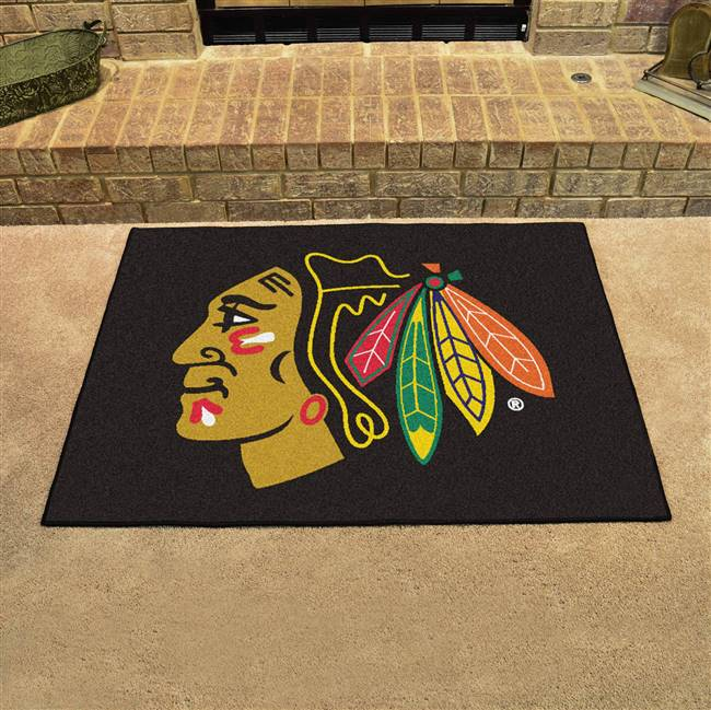 "Chicago Blackhawks All-Star Mat 34""x45"""